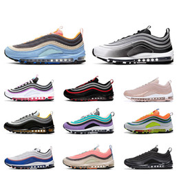 corduroy shoes men Canada - Top Quality Corduroy Pack Triple white Black Silver Bullet men Running shoes Reflective Bred Mens trainers Women Sports Sneaker