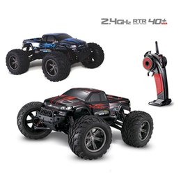 suv remote control car UK - Xinlehong 9115 2.4GHz 2WD 1 12 40km h Electric RTR High Speed RC Car SUV Vehicle Model Radio Remote Control Vehicle Toys Cars MX200414