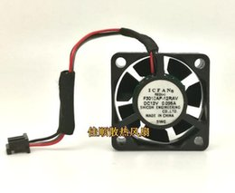 3cm 12v fan Australia - ICFAN F3010AP-12RAV 12V 30*30*10mm projector printer 3cm supermute miniature fan