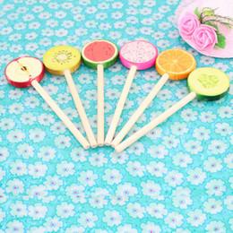 Discount led plastic goods Ballpen Six Varieties Plastic Cartoon Blue Pencil Lead Fashion Office Supplie Advertising Promotion Gift For Children Wr