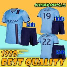 $enCountryForm.capitalKeyWord Australia - top quality 2019 New York City Kids Kits football shirts home 19 20 MLS LAMPARD 8 PIRLO MCNAMARA MORALEZ DAVID VILLA soccer jersey