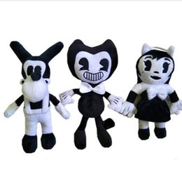 Discount best toys - Game Bendy Plush Toys Dog Boris Girl Soft Stuffed Dolls Best Kids Children Ink Machine Cosplay Doll Gift 30cm KKA6503
