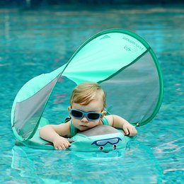 BaBy infant pool online shopping - Baby Solid Folat Ring Infant Toddler Safety Aquatics Swim Floating Swimming Pool School Training