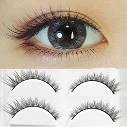 $enCountryForm.capitalKeyWord Australia - 2019 False Eyelash Eye Tail fashion Lashes Natural Short Fake Eyelashes 100% Handmade Cotton Stalk Thick Eyelash