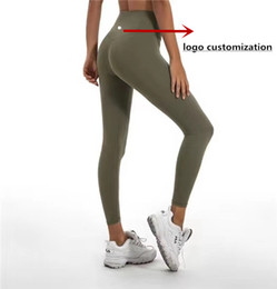 Wholesale plus size yoga pants for sale – dress Canada Yoga Brand Women Classical Versions Soft Naked Feel Athletic Fitness Leggings Women Stretchy High Waist Gym Sport Tights Yoga Pants