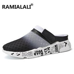 $enCountryForm.capitalKeyWord Australia - Summer Men Sandals Breathable Mesh Male Sandal Summer Beach Men Shoes Water Male Slippers Fashion Slides Cheap Shoes