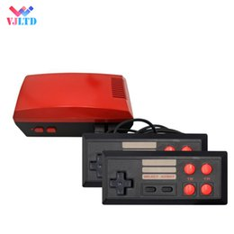 Video game consoles sales online shopping - New modle Mini TV can store RED Game Console Video Handheld for NES games consoles with retail boxs hot sale dhl
