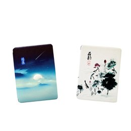 kindle case generation UK - 2 Pack Wake Sleep Ereader Protector Cover Painting Case Cover for Kindle Paperwhite 4th Generation