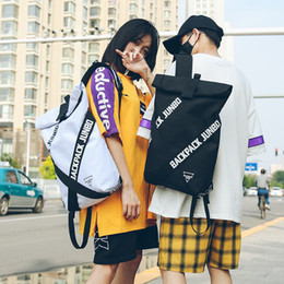 $enCountryForm.capitalKeyWord NZ - Couple Bag Unisex Cool Backpacks Personality Fashion Oxford Cloth Bag Casual Art Unique Big Backpack Latest Popular Hip Hop Bag Y19061102