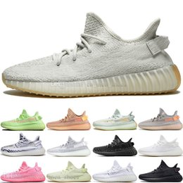 Fast delivery shoes online shopping - With Box Fast Delivery Kanye West Clay V2 Static Reflective Glow In The Dark Mens Running Shoes Hyperspace Women Men Sport Designer Sneakers