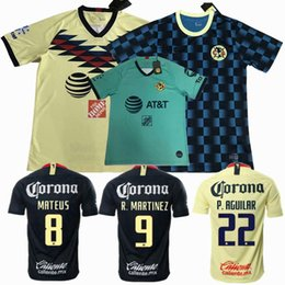 $enCountryForm.capitalKeyWord Australia - Liga MX 2019 2020 Club America Soccer Jerseys MATEUS O.LAINEZ R.MARTINEZ home away 19 20 football training men and women shirt S-2XL
