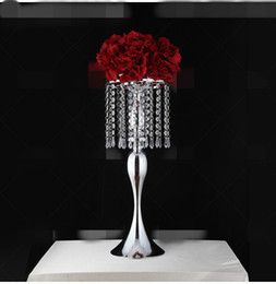 $enCountryForm.capitalKeyWord UK - New style tall Large table top crystal chandelier Pendant Wedding Centerpieces Crystal Flower stand centerpieces for weddings best0919
