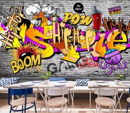 Graffiti Bedroom Wallpaper Online Shopping Graffiti Bedroom