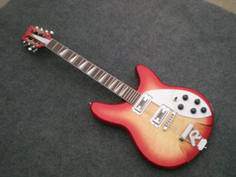 China 12 String Electric Guitars Australia - Wholesale -best china guitar Deluxe Model 360 12 STRING Electric guitar Semi Hollow Cherry Burst