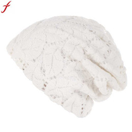 d588be4327687 Turban Hat Men UK - Winter Women India Hat Spring Autumn Hollow Out Cotton  Ruffle Cancer