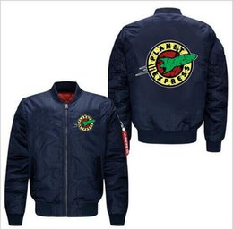 $enCountryForm.capitalKeyWord Australia - new fashion men's pilot flight jacket thick warm zip motorcycle jacket men's sports casual shirt