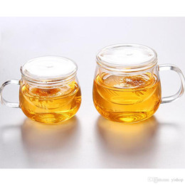 $enCountryForm.capitalKeyWord Australia - 310ML 500ML Crystal Glass Flower Tea GlassTumbler Lead-free Thickened Heat-resistant Cup Tea With Decanter Water Cup Home Drink Ware