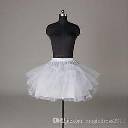 Black short underskirt online shopping - In stock Petticoats Wedding Accessories Layers Hoopless Short Crinoline White Flower Girl Dress Kid Princess Underskirt
