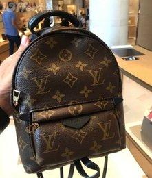 $enCountryForm.capitalKeyWord Australia - 22LOUIS VUITTON High Quality Best Price Original Design Genuine leather mini women bag children backpack luxury famous fashion Palm