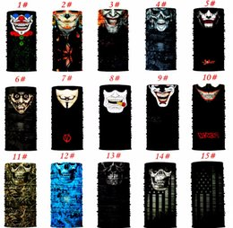 White neckerchief online shopping - Universal Male Breathable Sun Mask Skull Face Shield Balaclava Gaiter Neckerchief Outdoor Hunting Hot Sale