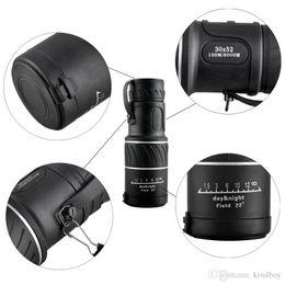 $enCountryForm.capitalKeyWord Australia - Outdoor Mini 30x52 Dual for Focus Optic Lens Day Night Vision Armoring Travel Monocular Telescope Tourism Scope Binoculars 2507007