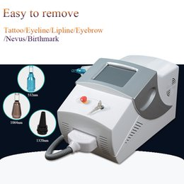laser tattoo removal ce Canada - Best selling portable tattoo removal machine nd yag laser home use machine tattoos equipment CE approval with factory price