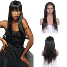 $enCountryForm.capitalKeyWord Australia - Best Selling Products Brazilian Human Hair Straight Lace Front Wig With Baby Hair 8-30 Natural Black No Tangle No Shedding LaurieJ Hair