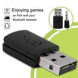 Ingrosso PS4 Auricolari Bluetooth adattatore USB Bluetooth 4.0 Dongle ultimo modello di ricevitore per PS4 adattatore PS4 Wireless Auricolari Bluetooth Receiver