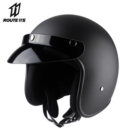 $enCountryForm.capitalKeyWord Australia - VOSS Motorcycle Helmet Retro Vintage Cafe Racer Moto Helmet 3 4 Open Face Crash Casco Casque Old Scooter Helmets