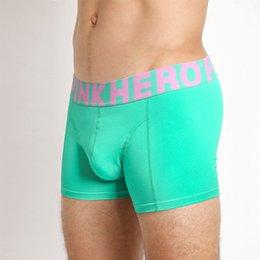 $enCountryForm.capitalKeyWord Australia - Pack of 8 Solid Color Men's Cotton Boxer Short Striped Stretch Men Panties Top Quality Men Underwear Intimate men's Undergarment