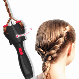 Smart Hair Australia - Free Shipping Automatic Smart DIY Magic Hair Styling Tools Two Strands Twist Braid Maker Hair Braider Machine (Not include the batteries)