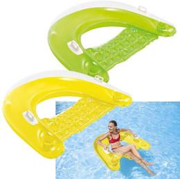 Плавающие ряд плавающей кровати воды рафтинг серфинг кресло Надувной крепление плавание водное снаряжение кольцо на Распродаже
