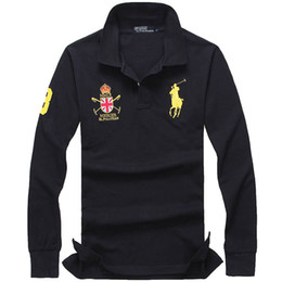 $enCountryForm.capitalKeyWord NZ - ralph polos mens Business Leisure shirt high quality men ralph Embroidery lauren Breathable shirt classic Brand polo fashion new polo shirt