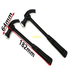 $enCountryForm.capitalKeyWord Australia - 100Pcs Plastic Handle Mini Claw Hammer Woodworking Nail Puncher Claw Hammer Household Emergency Rescue Tool