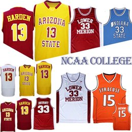 24f7822ab NCAA 33 Bryant 13 Harden Arizona State Sun Devils College Basketball  jerseys 2019 Hot sale Jersey sportswear