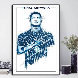 $enCountryForm.capitalKeyWord NZ - Cristiano Ronaldo Minimalist Abstract Portrait Paintings on Canvas Modern Art Decorative Wall Pictures Home Decoration