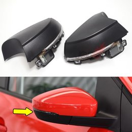 Vw Polo Australia - For Volkswagen VW Polo MK5 6R 6C 2009-2017 Side Wing Rearview Mirror Indicator Sequential Blinker Repeater Light Dynamic Turn Signal