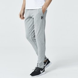 $enCountryForm.capitalKeyWord NZ - Breathable Jogging Pants Men Fitness Joggers Running Pants With Patches Training Sport Pants For Running Tennis Soccer Play J190772