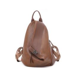 $enCountryForm.capitalKeyWord NZ - 2019 Women Fashion Vintage PU leather Backpack Female Chic Shoulder Bag Lady Bagpack School Bag Designer Retro Back Pack Travel Bag