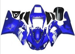 $enCountryForm.capitalKeyWord Australia - New ABS Compression Mold motorcycle plastic Fairings Kits Fit For YAMAHA YZF-R1-1000 1998-1999 98 99 Fairing bodywork set blue cool