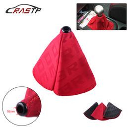 $enCountryForm.capitalKeyWord Australia - RASTP-Universal JDM Style Bride Canvas Shift Lever Knob Boot Cover Racing Car Shift Knob Collars RS-SFN059
