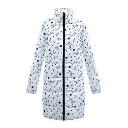 c5f9a018fd82d Parkas Women Winter Warm 2018 Stand collar Puffer Long Slim Zipper Thick  Quilted Cotton-Padded Parkas Jacket Outwear Casaco