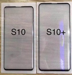Samsung Screen Glass Guard Australia - 3D Curved Tempered Glass Screen Protector For Samsung Galaxy S10 S10E S10 Plus Full Coverage Glass Film Guard With Retail Package Box