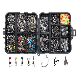 plastic lure case Australia - 177pcs Waterproof Plastic 16 Compartments Fishing Lure Bait Tackle Storage Box Bag Case