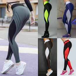 $enCountryForm.capitalKeyWord Australia - Diamond Pattern Yoga Pants Women's High Waist Gym Leggings Push Up Sport Leggins for Fitness Plus Size