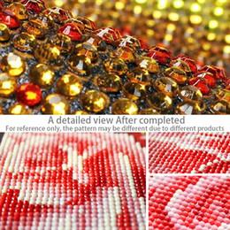 $enCountryForm.capitalKeyWord Australia - Lotus Swan 5D Diamond Painting DIY Craft Cross Stitch Rhinestone Mosaic Decoration Part Diamond Embroidery 30*55cm