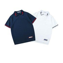a492abfc2 Shirt Tshirt Size UK - New mens designer t shirts GIVEN CHYs brand lapel  Mercerized fabric