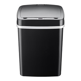 Steel Induction Australia - 12L Automatic Trash Can Touchless Intelligent Induction Garbage Bin With Inner Bucket Contactless Circulator Quiet Lid Close Can White