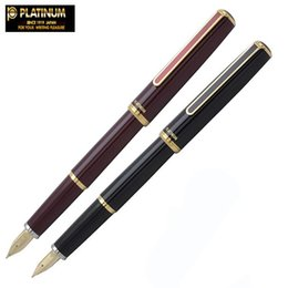 $enCountryForm.capitalKeyWord Australia - Japan Platinum Vicoh thin Fountain Pen 14K Gold Tip with Ink Converter PTL-5000A