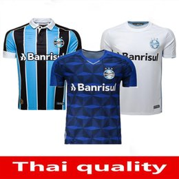 top thai quality soccer jersey Australia - Top Thai quality 19 20 Gremio home 3RD soccer jersey Guild GIULIANO 2019 2020 RAMIRO Geromel LUAN MAICON Fernandinho away football shirt